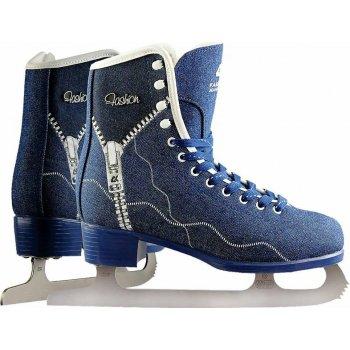 Коньки фигурные Fashion Jeans Blue